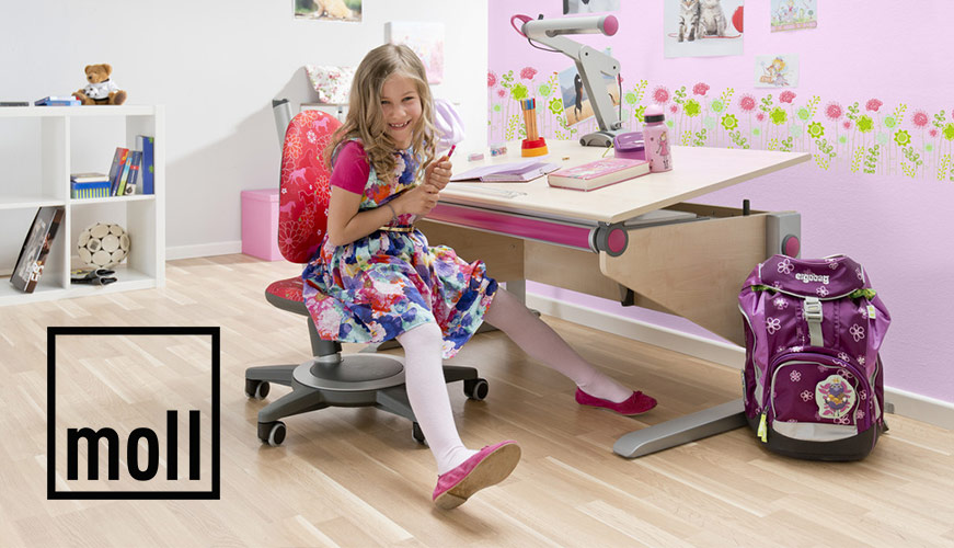 ergonomische kinderm bel von moll sitz art l beck. Black Bedroom Furniture Sets. Home Design Ideas