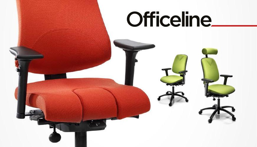 Officeline Höganäs Bürostuhl aus Schweden