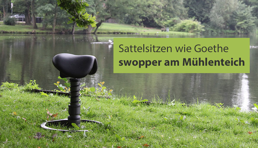swopper Sattel sitz in Lübeck am Mühlenteich