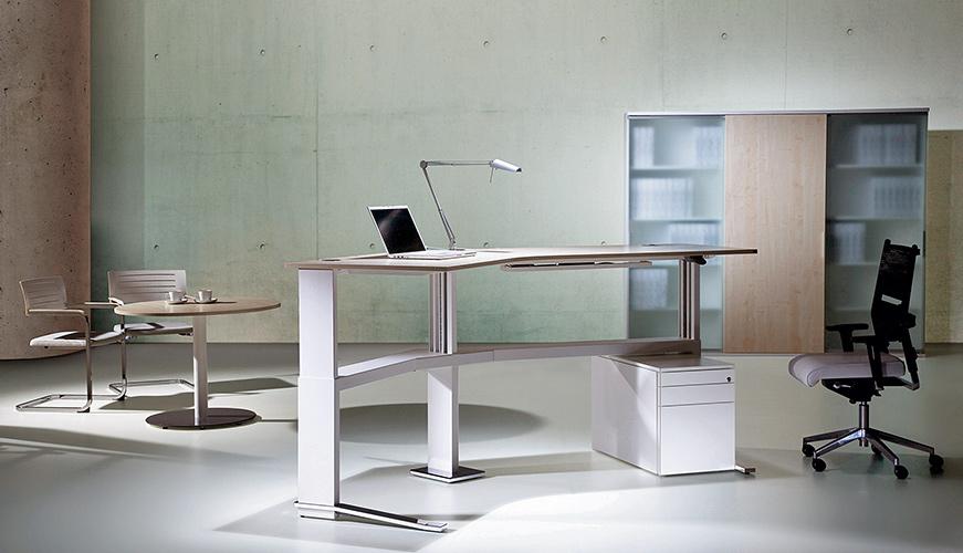 Ergonomie Hohenverstellbare Schreibtische Sitz Art Lubeck